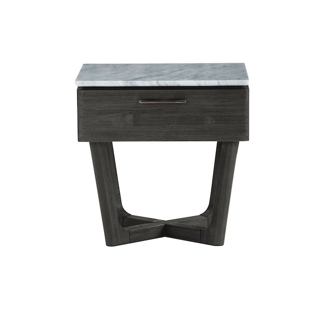 Carson Marble Bedside Table - 0