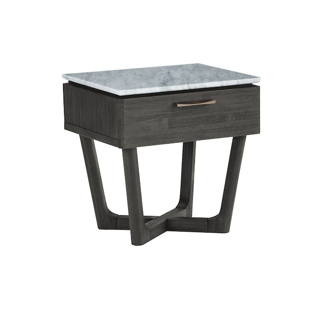 Carson Marble Bedside Table - 1