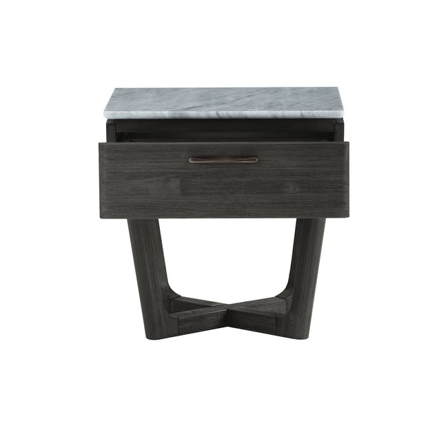Carson Marble Bedside Table - 4