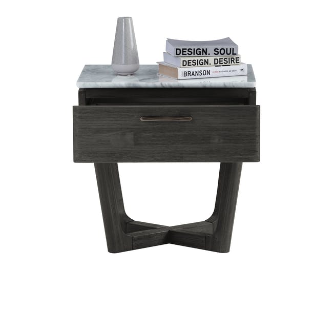 Carson Marble Bedside Table - 3