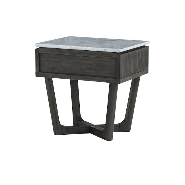 Carson Marble Bedside Table - 6