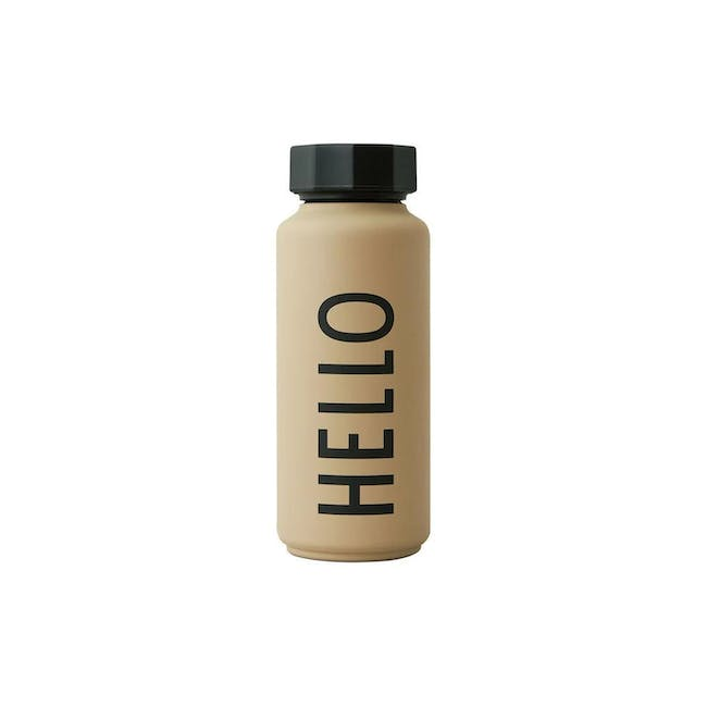 Insulated Bottle Special Edition - Beige (Hello) - 0