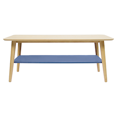 Copenhagen Coffee Table - Dusty Blue