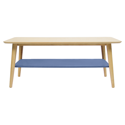 Blythe Coffee Table - Dusty Blue