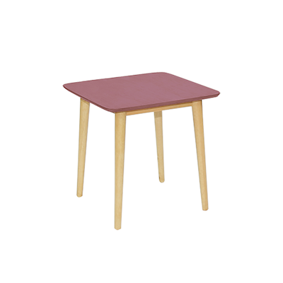 Blythe Side Table - Dusty Red