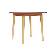 Copenhagen Side Table - Dusty Red