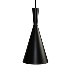 Beat Tall Black Pendant Lamp