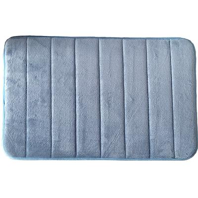 Memory Foam Bath Mat - Blue - Image 1