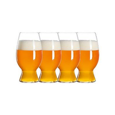 CRAFT BEER GLASSES Witbier Glass (Set of 4)