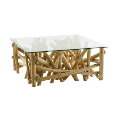 Coral-C Square Coffee Table