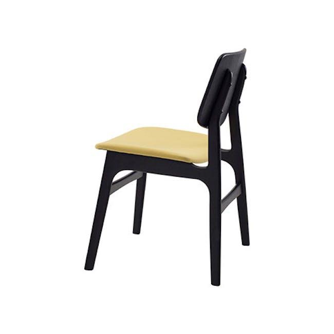 Margo Fabric Seat Dining Chair - Black, Pistachio - 3