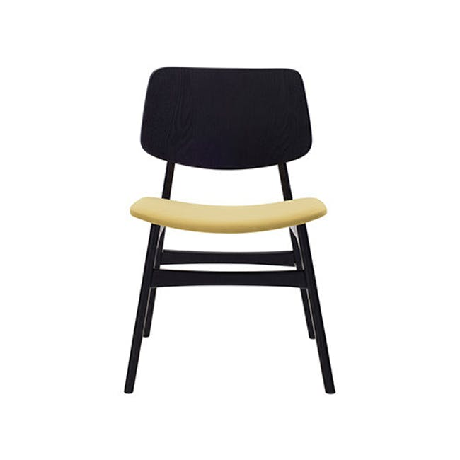 Margo Fabric Seat Dining Chair - Black, Pistachio - 2