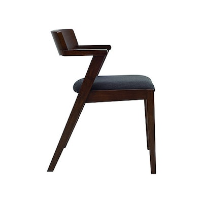 Imogen Dining Chair - Cocoa, Mud - Image 2
