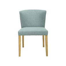 Rhoda Chair - Natural, Aquamarine