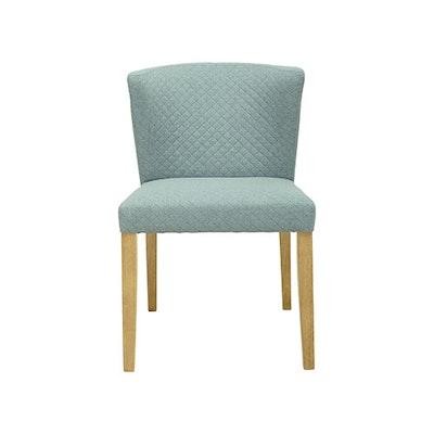 Rhoda Dining Chair - Natural, Aquamarine - Image 2