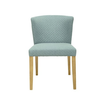 Rhoda Dining Chair - Natural, Aquamarine