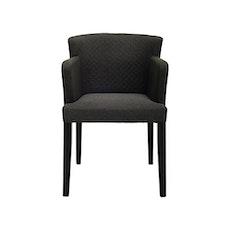 Rhoda Arm Chair - Black, Mud