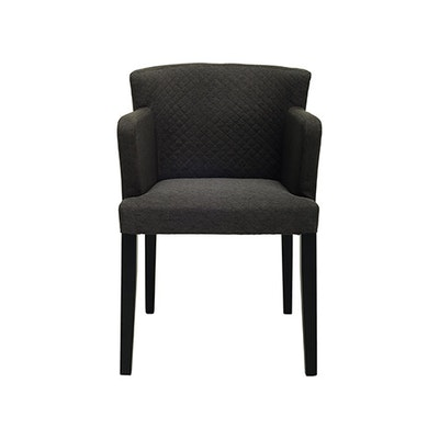 Rhoda Armchair - Black, Mud
