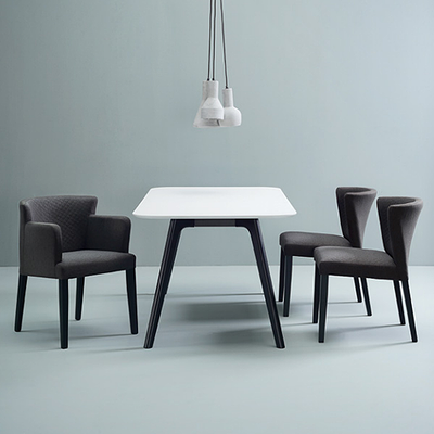 Rhoda Dining Chair - Black, Mud - Image 2