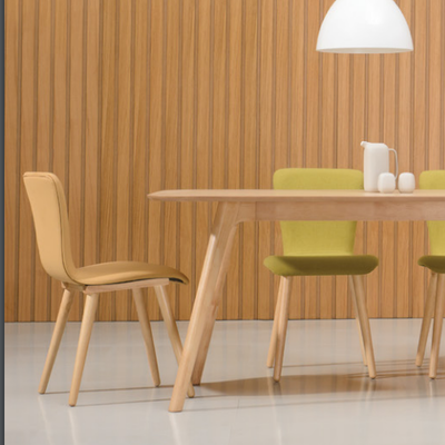 Valley Oak Seat Dining Chair - Cocoa