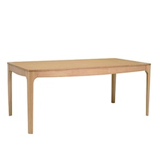 Meteo 6 Seater Dining Table L180 - Natural