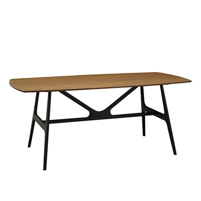 Fila Dining Table 1.8m - Black, Cocoa - Image 1