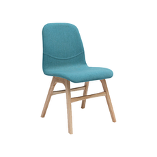 Ava Dining Chair - Natural, Emerald
