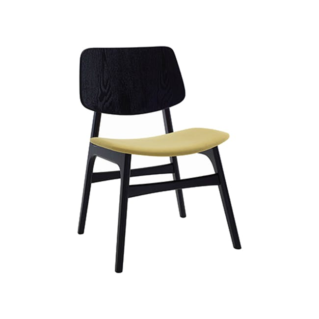 Margo Fabric Seat Dining Chair - Black, Pistachio - 0