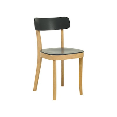 (As-Is) Stockholm Chair - Natural, Charcoal Grey - 2 - Image 1