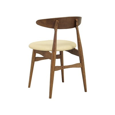(As-is) San Francisco Dining Chair - Cocoa, Cream - 1 - Image 2