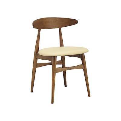 (As-is) San Francisco Dining Chair - Cocoa, Cream - 1 - Image 1