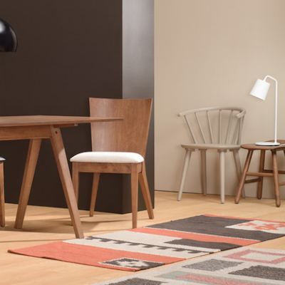 (As-is) Caley Dining Chair - Cocoa - 1 - Image 2