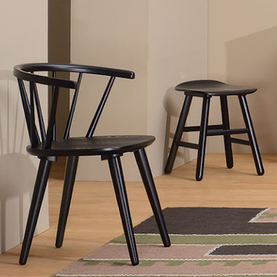 (As-is) Caley Dining Chair - Black - 1 - Image 2