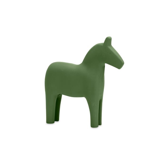Molly Wooden Pony - Forest Green - 0