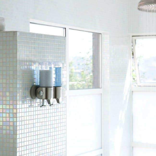 simplehuman Duo Wall Mount Soap Dispenser - 1