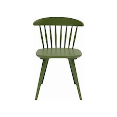 (As-Is) Iria Dining Chair - Green - 1