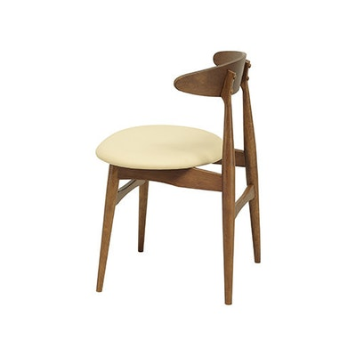 San Francisco Dining Chair - Natural, Espresso - Image 2