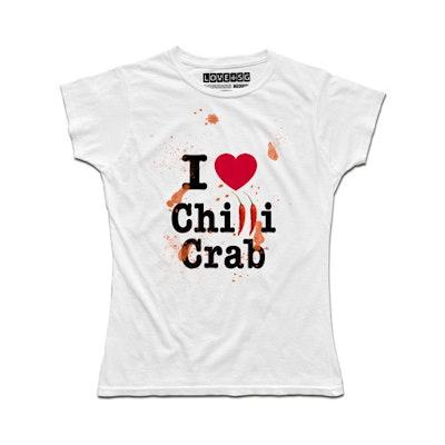 I Love Chilli Crab (Women) T-Shirt