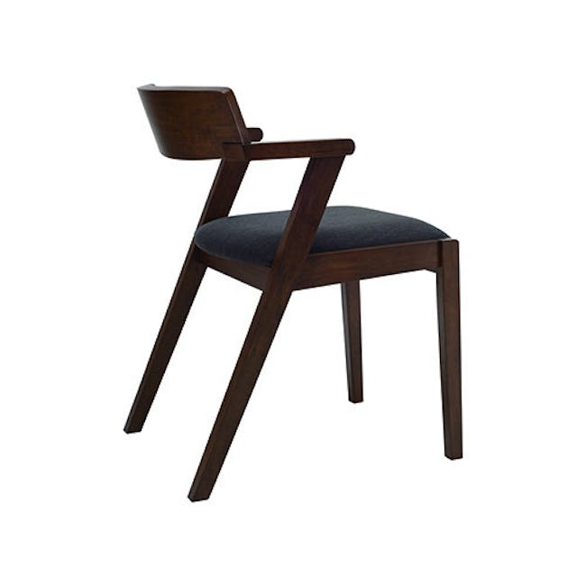 Imogen Dining Chair - Cocoa, Dolphin Grey - 5