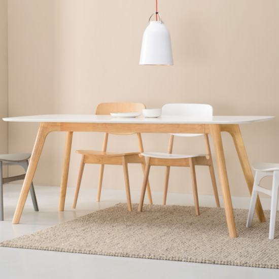 Malmo - Roden Dining Table 1.8m - Natural