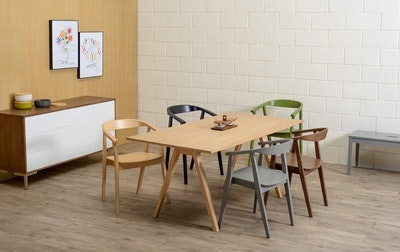 Varden 6 Seater Dining Table - Natural
