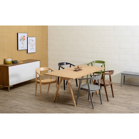 Malmo - Varden Dining Table 1.7m - Natural
