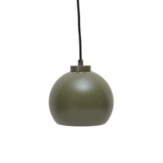 Slug Pendant Lamp - Matte Green