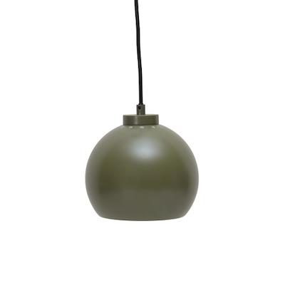 Slug Pendant Lamp - Matte Green