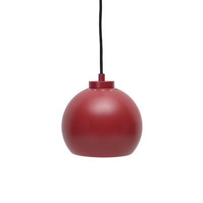 Slug Pendant Lamp - Matte Red