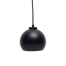Slug Pendant Lamp - Matte Black