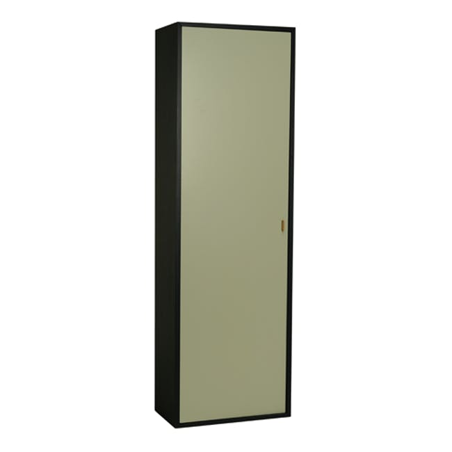 Taber Shoe Cabinet - Dust Green - 1