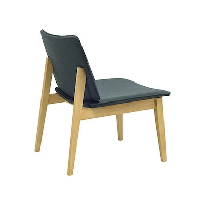 William Lounge Chair - Black, Whale - Image 2