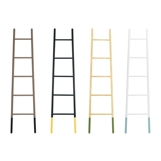 Malmo - Mycroft Ladder Hanger - Black