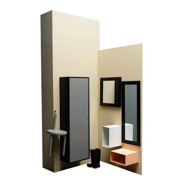 Taber Shoe Cabinet - Light Green - 3